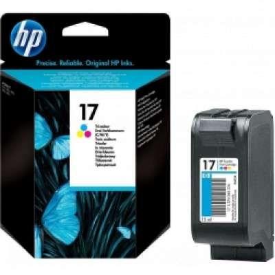 ראש דיו צבעוני HP 17 C6625AE מקורי