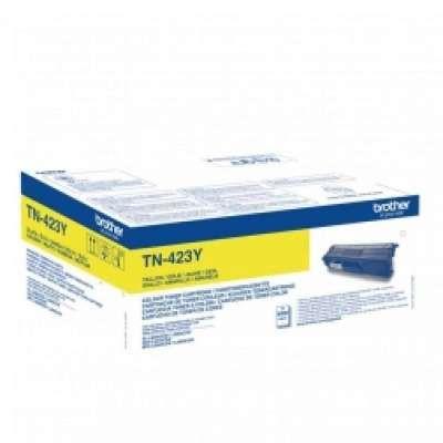 טונר למדפסת צהוב למדפסת ברדר  TN423Y
