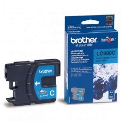 ראש דיו כחול  Brother LC980C תואם