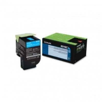 מחסנית טונר Lexmark 808SC בצבע כחול