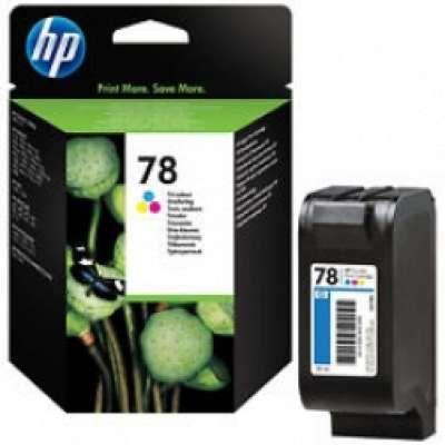 ראש דיו צבעוני HP 78 C6578AE