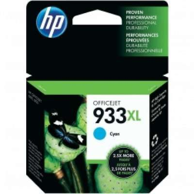 ראש דיו ציאן HP 933XL CN054AE כחול מקורי