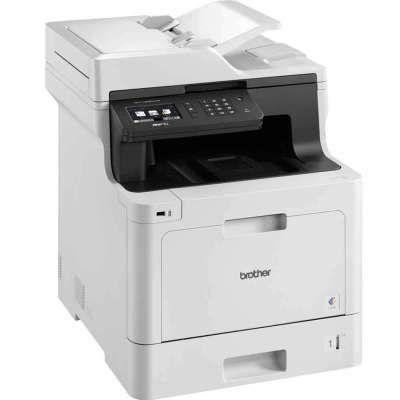מדפסת משולבת לייזר צבעונית Brother MFCL8690CDW