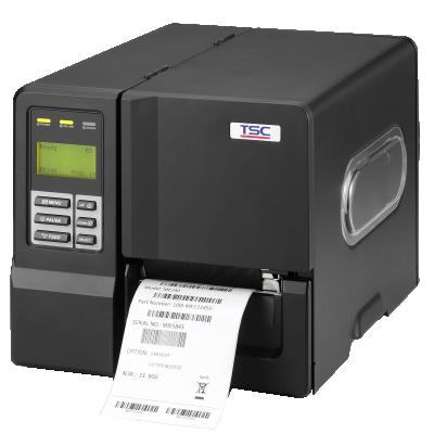 מדפסת מדבקות ברקוד תעשייתית קלה דגם ME-240 תוצרת חברת TSC
