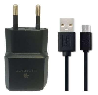 מטען קיר + MICRO USB 2.1A MWCS210 מבית MIRACASE