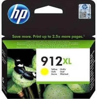 ראש דיו צהוב HP 912XL 3JA83AE