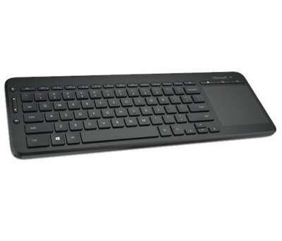 מקלדת אלחוטית Microsoft All-in-One Media Keyboard N9Z-00015