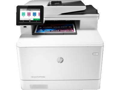 מדפסת HP Color LaserJet Pro MFP M479fdn