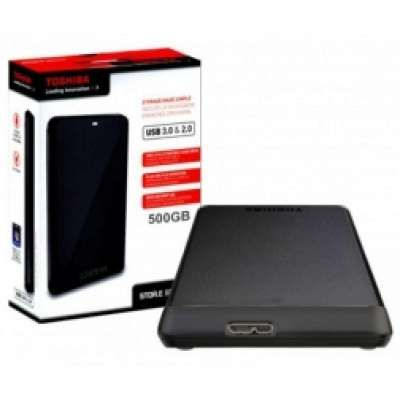 דיסק קשיח חיצוני Toshiba 500GB