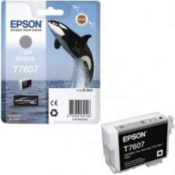 דיו שחור בהיר מקורי EPSON T7607
