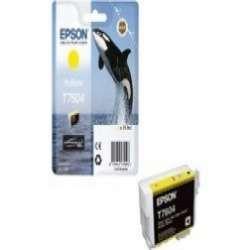 דיו צהוב מקורי EPSON T7604