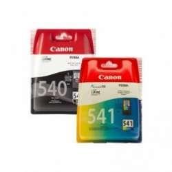 סט ראשי דיו שחור וצבעוני Canon PG541 ו PG540 קנון מקורי